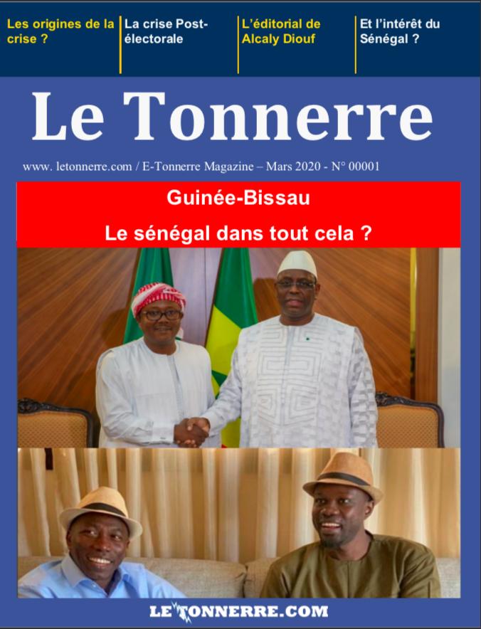 E magazine le tonnerre, guinée Bissau